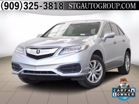 2018 Acura RDX for sale at STG Auto Group in Montclair CA