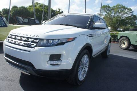2013 Land Rover Range Rover Evoque for sale at Dream Machines USA in Lantana FL