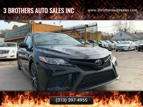 2019 Toyota Camry for sale at 3 Brothers Auto Sales Inc in Detroit MI