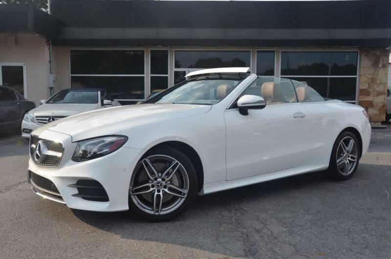 2018 Mercedes-Benz E-Class for sale at Amyn Motors Inc. in Tucker GA