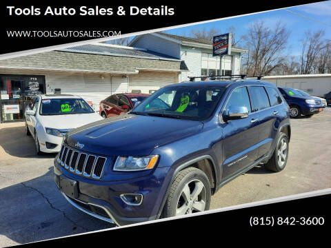 2015 Jeep Grand Cherokee for sale at Tools Auto Sales & Details in Pontiac IL