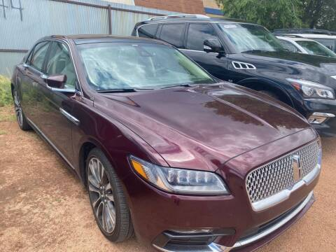 2017 Lincoln Continental for sale at Street Smart Auto Brokers in Colorado Springs CO