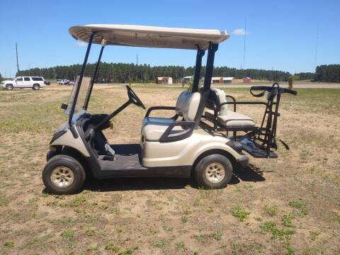 2008 Yamaha Electric Golf Cart for sale at Elk Creek Motors LLC in Park Rapids MN
