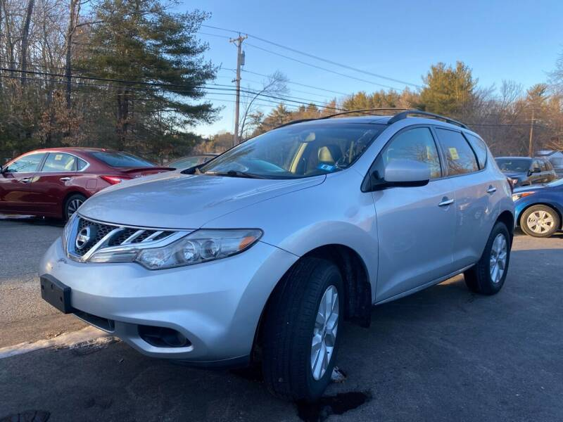 2012 Nissan Murano for sale at Royal Crest Motors in Haverhill MA