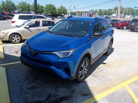2018 Toyota RAV4 for sale at ORANGE PARK AUTO in Jacksonville FL