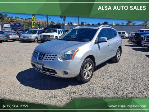 2009 Nissan Rogue for sale at ALSA Auto Sales in El Cajon CA