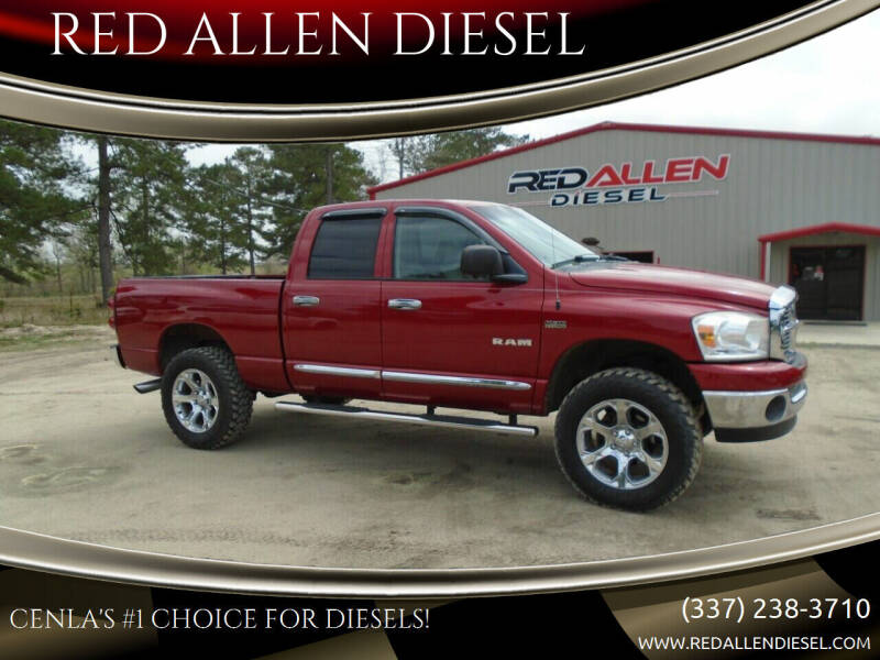 2008 Dodge Ram Pickup 1500 for sale at RED ALLEN DIESEL in Anacoco LA