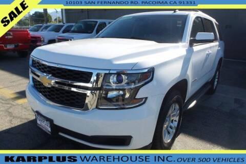 2015 Chevrolet Tahoe for sale at Karplus Warehouse in Pacoima CA