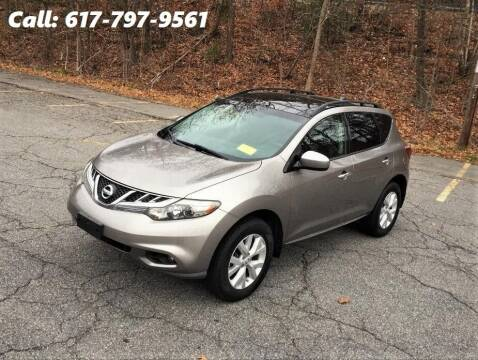 2011 Nissan Murano for sale at Wheeler Dealer Inc. in Acton MA