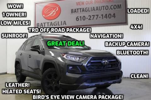 2020 Toyota RAV4 for sale at Battaglia Auto Sales in Plymouth Meeting PA