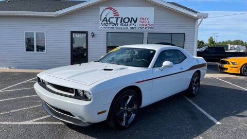 2014 Dodge Challenger for sale at Action Motor Sales in Gaylord MI
