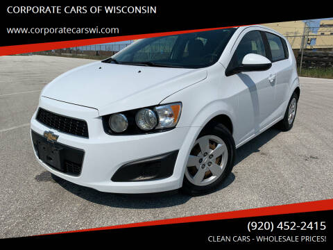2015 Chevrolet Sonic for sale at CORPORATE CARS OF WISCONSIN in Sheboygan WI