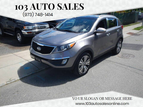 2014 Kia Sportage for sale at 103 Auto Sales in Bloomfield NJ