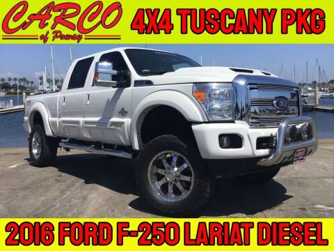 2016 Ford F-250 Super Duty for sale at CARCO SALES & FINANCE - CARCO OF POWAY in Poway CA