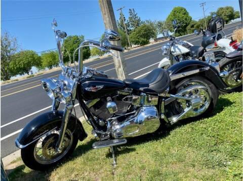 2005 Harley Davidson Softail Deluxe for sale at KARS R US in Modesto CA