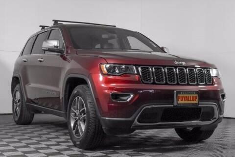 2020 Jeep Grand Cherokee for sale at Washington Auto Credit in Puyallup WA