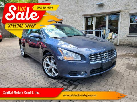 2010 Nissan Maxima for sale at Capital Motors Credit, Inc. in Chicago IL