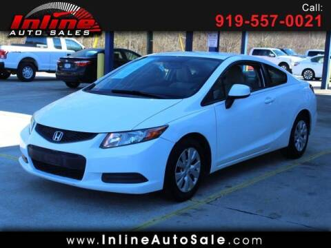 2012 Honda Civic for sale at Inline Auto Sales in Fuquay Varina NC