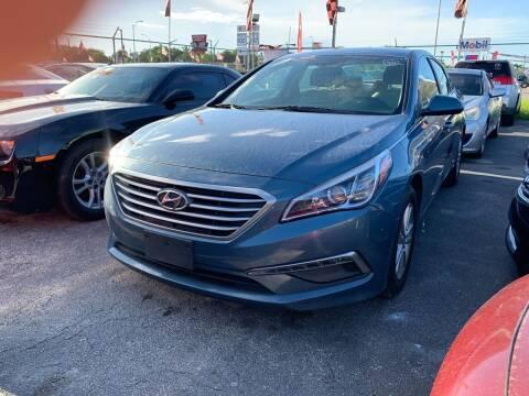 2015 Hyundai Sonata for sale at America Auto Wholesale Inc in Miami FL