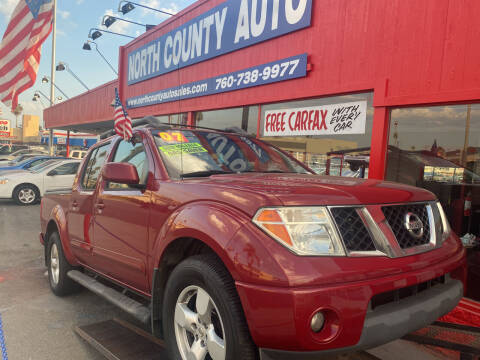 2007 Nissan Frontier for sale at North County Auto in Oceanside CA