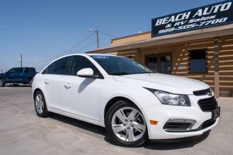 2015 Chevrolet Cruze for sale at Beach Auto and RV Sales in Lake Havasu City AZ