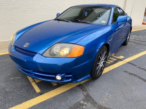 2004 Hyundai Tiburon for sale at Carland Auto Sales INC. in Portsmouth VA