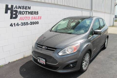 2013 Ford C-MAX Hybrid for sale at HANSEN BROTHERS AUTO SALES in Milwaukee WI