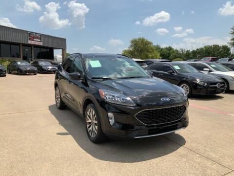 2020 Ford Escape for sale at KIAN MOTORS INC in Plano TX
