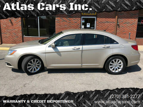 2014 Chrysler 200 for sale at Atlas Cars Inc. in Radcliff KY