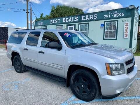 2010 Chevrolet Suburban for sale at Best Deals Cars Inc in Fort Myers FL