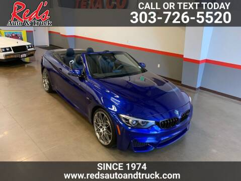 2020 BMW M4 for sale at Red's Auto and Truck in Longmont CO