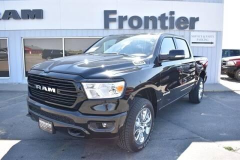 2021 RAM Ram Pickup 1500 for sale at Frontier Motors Automotive, Inc. in Winner SD
