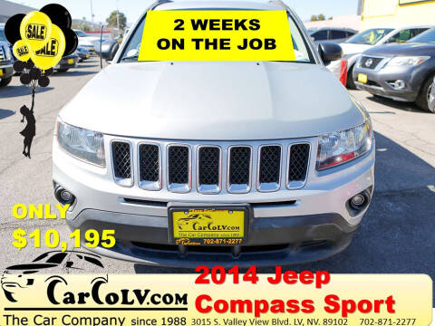 2014 Jeep Compass for sale at The Car Company in Las Vegas NV