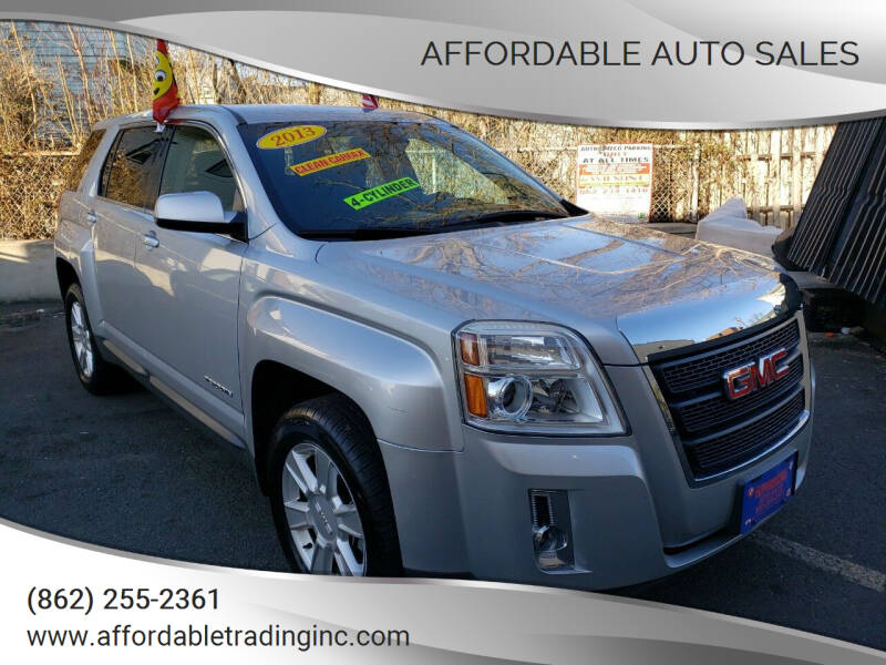 2013 GMC Terrain for sale at Affordable Auto Sales in Irvington NJ