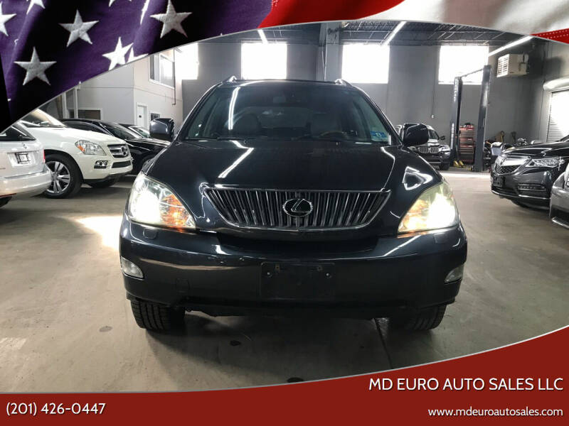 2009 Lexus RX 350 for sale at MD Euro Auto Sales LLC in Hasbrouck Heights NJ