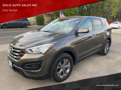 2014 Hyundai Santa Fe Sport for sale at SOLIS AUTO SALES INC in Elko NV