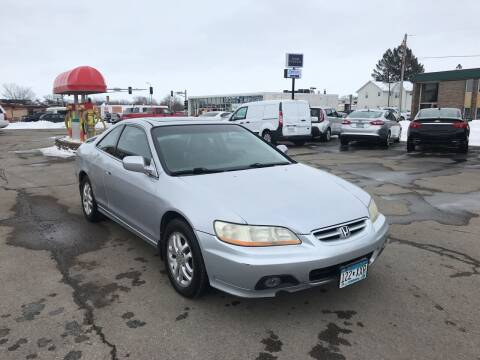 2002 Honda Accord for sale at Carney Auto Sales in Austin MN