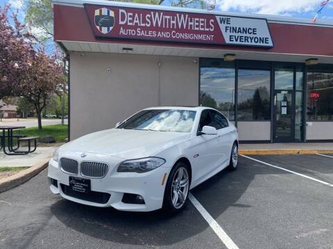 2013 BMW 5 Series for sale at Dealswithwheels in Inver Grove Heights/Hastings MN