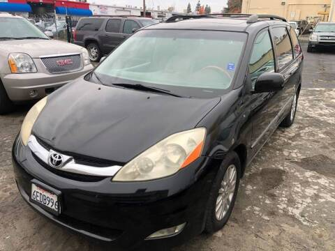 2008 Toyota Sienna for sale at 101 Auto Sales in Sacramento CA