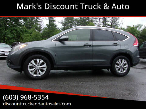2012 Honda CR-V for sale at Mark's Discount Truck & Auto in Londonderry NH