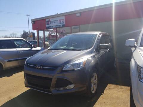 2014 Ford Escape for sale at Quality Auto Today in Kalamazoo MI