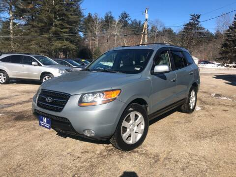 2007 Hyundai Santa Fe for sale at Hornes Auto Sales LLC in Epping NH