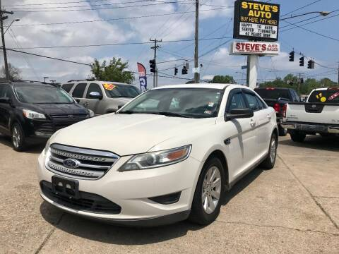 2010 Ford Taurus for sale at Steve's Auto Sales in Norfolk VA