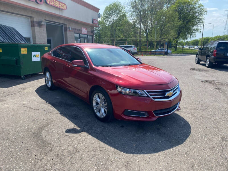 2014 Chevrolet Impala for sale at KING AUTO SALES  II in Detroit MI