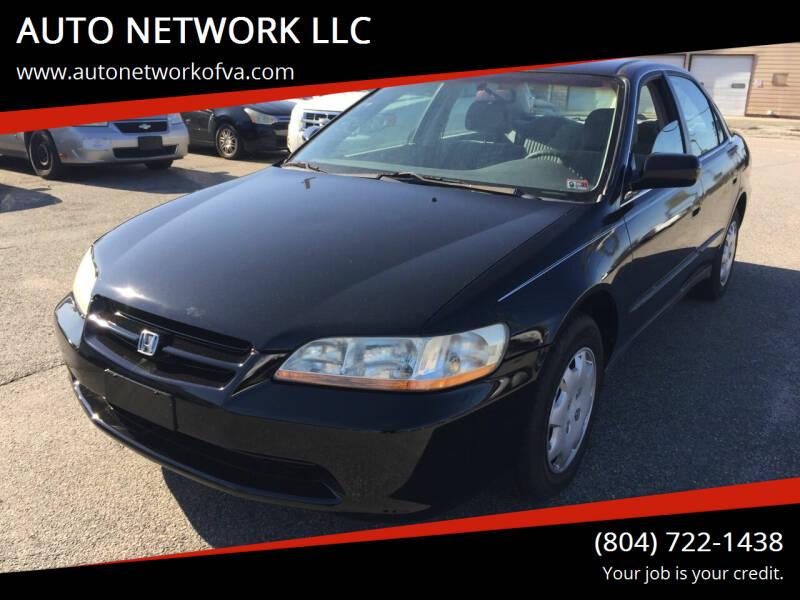 1998 Honda Accord for sale at AUTO NETWORK LLC in Petersburg VA