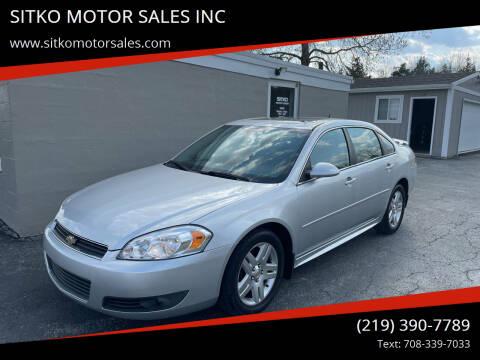 2011 Chevrolet Impala for sale at SITKO MOTOR SALES INC in Cedar Lake IN