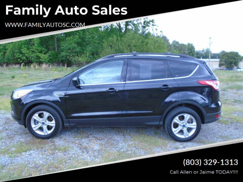 2013 Ford Escape for sale at Family Auto Sales in Rock Hill SC