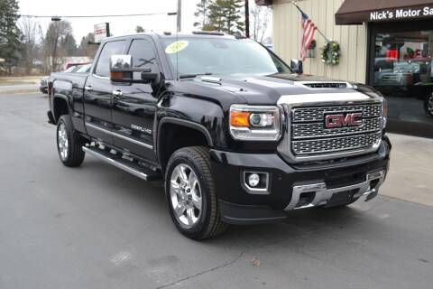 2019 GMC Sierra 2500HD for sale at Nick's Motor Sales LLC in Kalkaska MI