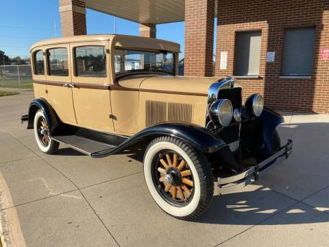 1930 Plymouth 4 DOOR SEDAN for sale at Klemme Klassic Kars in Davenport IA