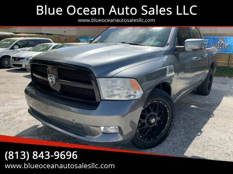 2010 Dodge Ram Pickup 1500 for sale at Blue Ocean Auto Sales LLC in Tampa FL